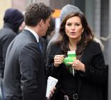 Маришка Харгитей, фото 1213. Mariska Hargitay on set of 'Law and Order SVU', february 2, foto 1213
