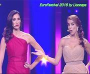 Os momentos mais sensuais do Eurofestival 2018