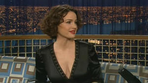 Carla Gugino - Late Night with Conan O'Brien (2006)