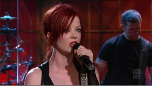 Shirley Manson (Garbage (band) - Bleed Like Me -Tonight Show With Jay Leno 28052005 MPEG2 DD5.1_HDTV1080i