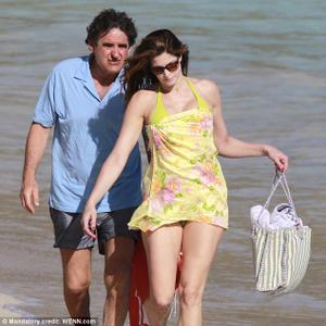 Stephanie Seymour Yellow Bikini Softly Temperature: St...