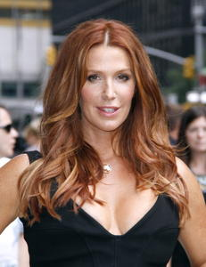 Poppy Montgomery at The Late Show with David Letterman in NY 07-09-2014 (not HQ)